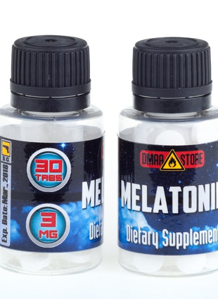 Melatonin 3 мг. (30 капс.)