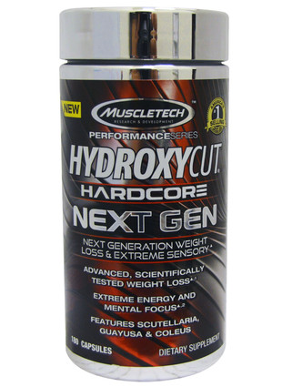Hydroxycat Hardcore Next Gen (100 капс.)