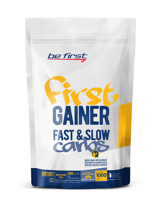First Gainer Fast & Slow Carbs (1000 гр)