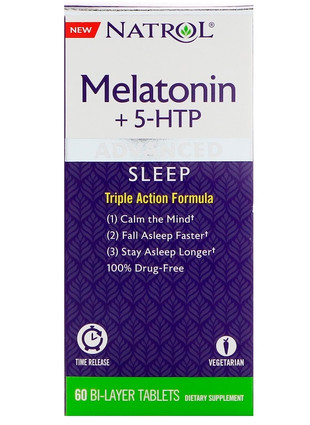 Sleep Melatonin + 5-HTP (60 капс)