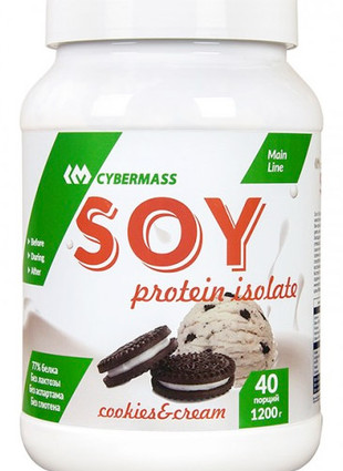 Soy protein isolate (1200 гр)