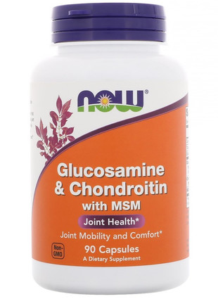 Glucosamine & Chondroitin with MSM (90 капс)