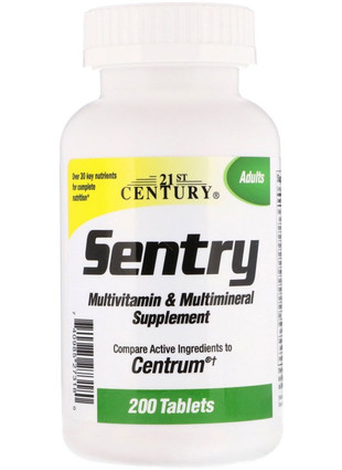 Multivitamin & Multimineral Sentry (200 табл)