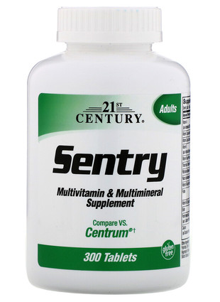 MULTIVITAMIN & MULTIMINERAL SENTRY (300 ТАБЛ)