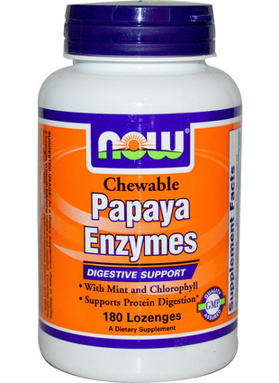 Papaya Enzyme Chewable (180 таб.)